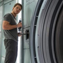 Passengers: Chris Pratt in un momento del film