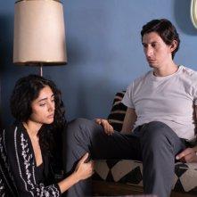 Paterson: Golshifteh Farahani e Adam Driver in un momento del film