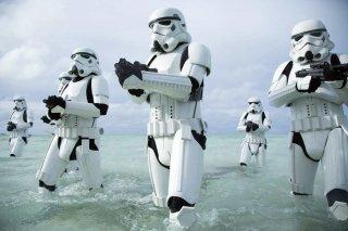 Rogue One: un gruppo di stormtrooper