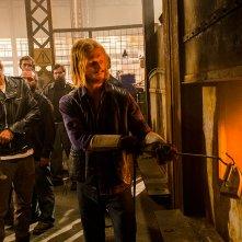 The Walking Dead: Jeffrey Dean Morgan e Austin Amelio in Tu sei il mio sole