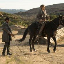 Westworld: Ben Barnes e Jimmi Simpson in The Bicameral Mind