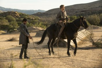 Westworld: Ben Barnes e Jimmi Simpson in The Bicameral Mind