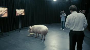 Black Mirror: una scena dell'episodio Messaggio per il Primo Ministro