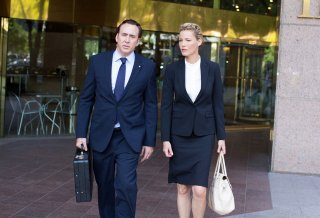 Nicolas Cage e Connie Nielsen in The Runner