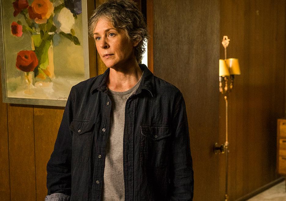 The Walking Dead: Melissa McBride nell'episodio Hearts Still Beating