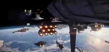 Rogue One: A Star Wars Story - Un fotogramma dello spot Ghost