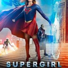 Supergirl: poster del crossover con The Flash, Arrow e Legends of Tomorrow