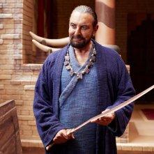 Mohenjo Daro: Kabir Bedi in una scena del film