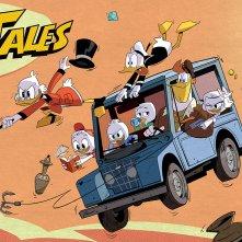 DuckTales: un banner della nuova serie