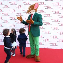Roma Fiction Fest 2016: Geronimo Stilton con i bambini sul red carpet