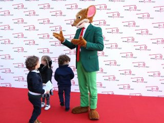 Roma Fiction Fest 2016: Geronimo Stilton con i bambini sul red carpet