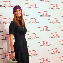 Roma Fiction Fest 2016: Francesca Cavallin sul red carpet di Di padre in figlia