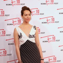 Roma Fiction Fest 2016: Cristiana Capotondi sul red carpet di Di padre in figlia