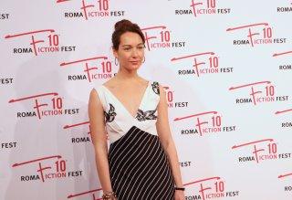 Roma Fiction Fest 2016: Cristiana Capotondi sul red carpet di Di padre in figlia