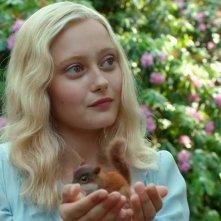 Ella Purnell  in una scena di Miss Peregrine