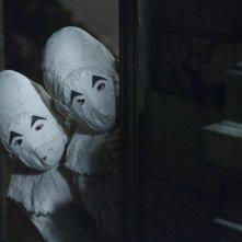 Una scena del film di Tim Burton: Miss Peregrine