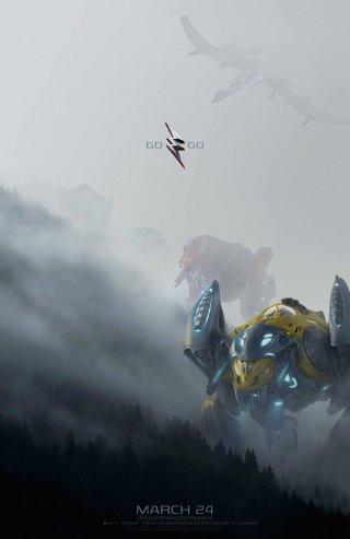 Power Rangers: un poster del film