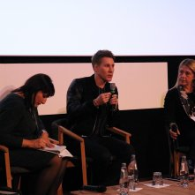 Roma Fiction Fest 2016: uno scatto di Dustin Lance Black in conferenza