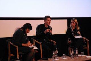 Roma Fiction Fest 2016: uno scatto di Dustin Lance Black in conferenza