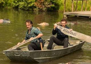 The Walking Dead: Andrew Lincoln e Ross Marquand in Hearts Still Beating