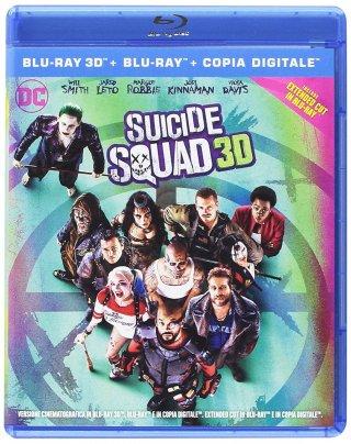 La cover del blu-ray di Suicide Squad