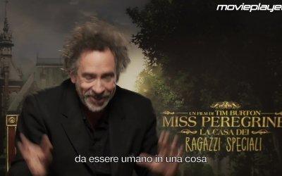 Miss Peregrine – La casa dei ragazzi speciali: Video intervista a Tim Burton