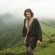 Silence: Andrew Garfield in una foto del film