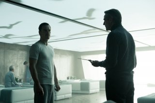 Assassin's Creed: Michael Fassbender e Jeremy Irons in una scena