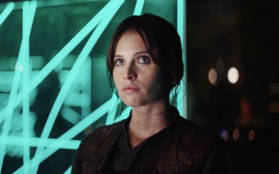"Rogue One, faccia a faccia con Felicity Jones: ""Jyn, la mia eroina solitaria"""