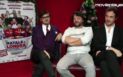Natale a Londra: Video intervista a Lillo e Greg e Volfango De Biasi