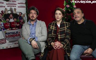 Natale a Londra: Video intervista a Paolo Ruffini, Eleonora Giovanardi e Nino Frassica