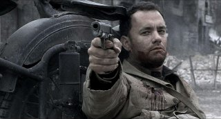 Tom Hanks in Salvate il soldato Ryan