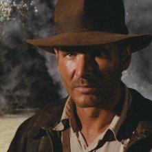 Harrison For d è Indiana Jones ne I predatori dell'arca perduta