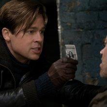 Allied - Un'ombra nascosta: Brad Pitt in un momento del film