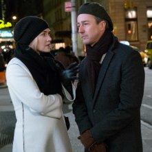 Collateral Beauty: Kate Winslet ed Edward Norton in una scena del film