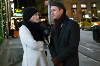 Collateral Beauty: Kate Winslet ed Edward Norton in una scena del film