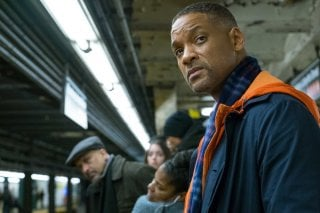 Collateral Beauty: Will Smith in una scena del film