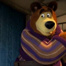 Masha e orso - Nuovi amici: un momento del film d'animazione