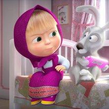 Masha e orso - Nuovi amici: un'immagine tratta dal film d'animazione