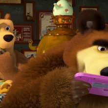 Masha e orso - Nuovi amici: un'immagine del film d'animazione