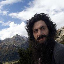 Segantini - Ritorno alla natura: Filippo Timi in un momento del documentario
