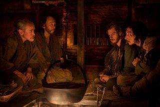 Silence: Adam Driver e Andrew Garfield in un momento del film