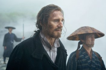 Silence: Liam Neeson in un momento del film