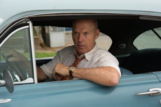 The Founder: Michael Keaton in una scena del film