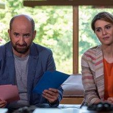 Mamma o papà?, Paola Cortellesi e Antonio Albanese in una scena del film
