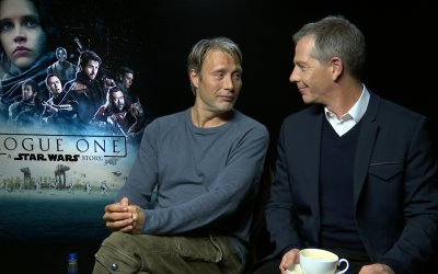 "Mads Mikkelsen e Ben Mendelsohn: ""Sì, in Rogue One tra noi c'è bromance"""