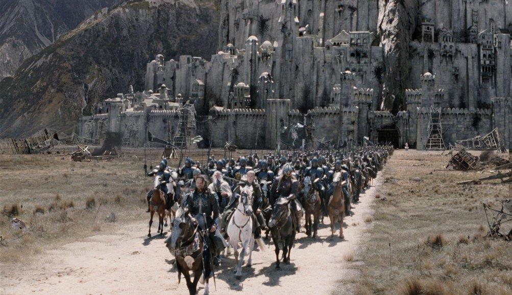 Una scena de Il signore degli anelli - Il ritorno del re
