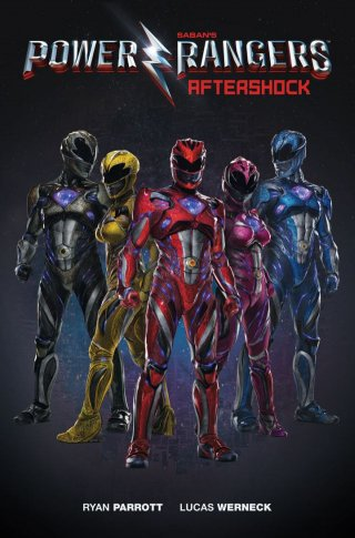 Power Rangers: la copertina di Aftershock