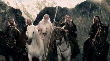Una scena de Il signore degli anelli: Le due torri