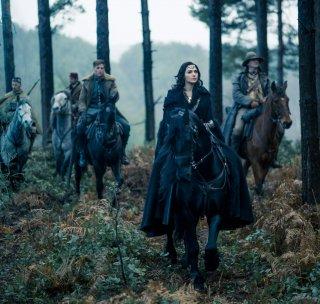 Wonder Woman: Gal Gadot a cavallo